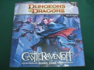 D&Dボードゲーム:キャッスル・レイヴンロフト
