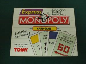 エクスプレス・モノポリーカードゲーム