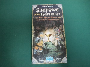 キャメロットを覆う影カードゲーム