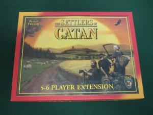 カタンの開拓者拡張:5~6人用
