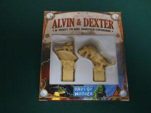 チケットトゥライド拡張:アルヴィン&デクスター