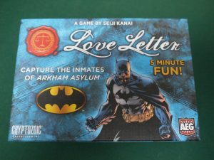 ラブレター:バットマン