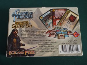A Game of Thrones Collectible Card Game
