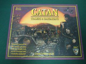 カタンの開拓者拡張:商人と蛮族