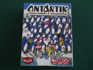 南極の飛び込みペンギン