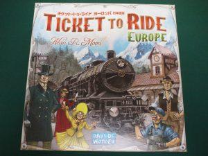 チケットトゥライド:ヨーロッパ