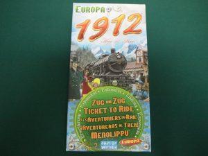 チケットトゥライド拡張:ヨーロッパ1912