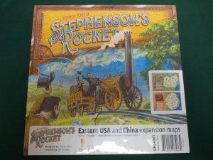 スチーブンソンズロケット拡張:アメリカ東部&中国