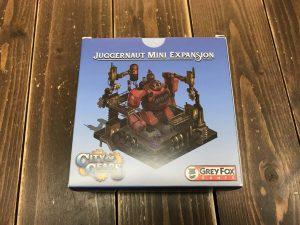 シティ・オブ・ギアーズ:Juggernaut Mini Expansion