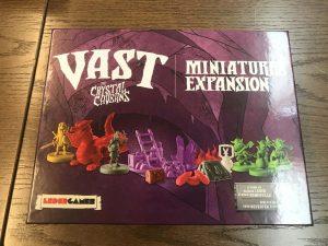 ヴァスト:水晶の洞窟:Miniatures Expansion